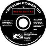 Red Hat Linux Penguin Power CD